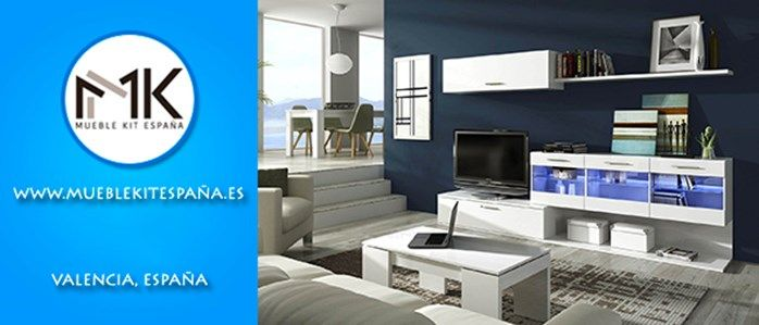 Mueble kit espa a decoraci n del hogar oficina o lugar for Factory del mueble madrid