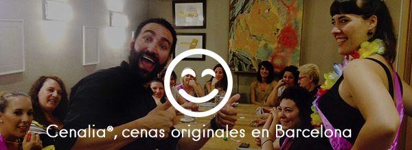 Cenalia Barcelona, nueva web de cenas originales para grupos
