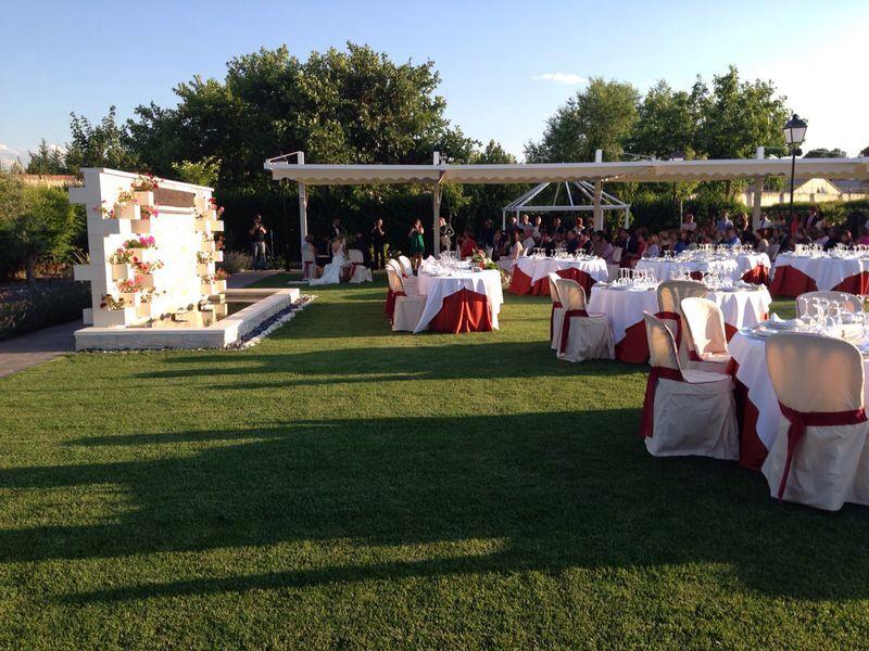 Jardines para bodas y celebraciones en Albacete