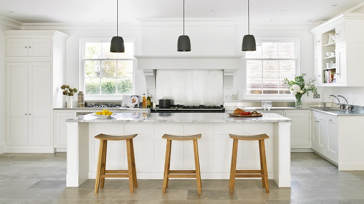 La moda de las cocinas blancas: qué sí y qué no