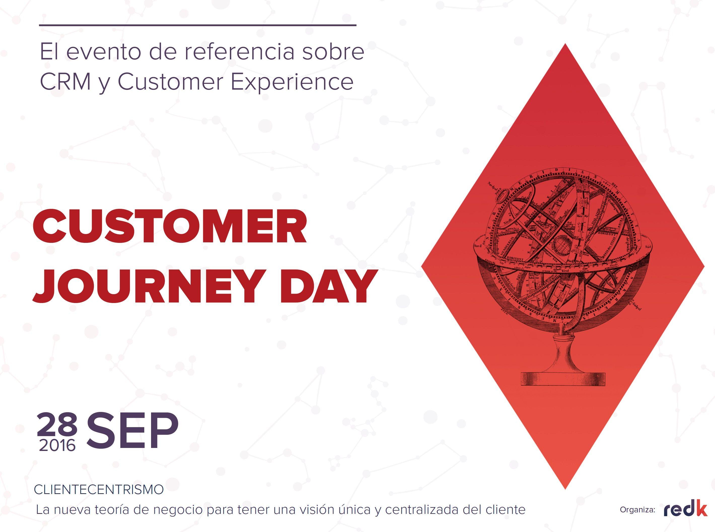 El 'clientecentrismo', eje del Customer Journey Day 2016, evento de referencia en CRM y Customer Experience