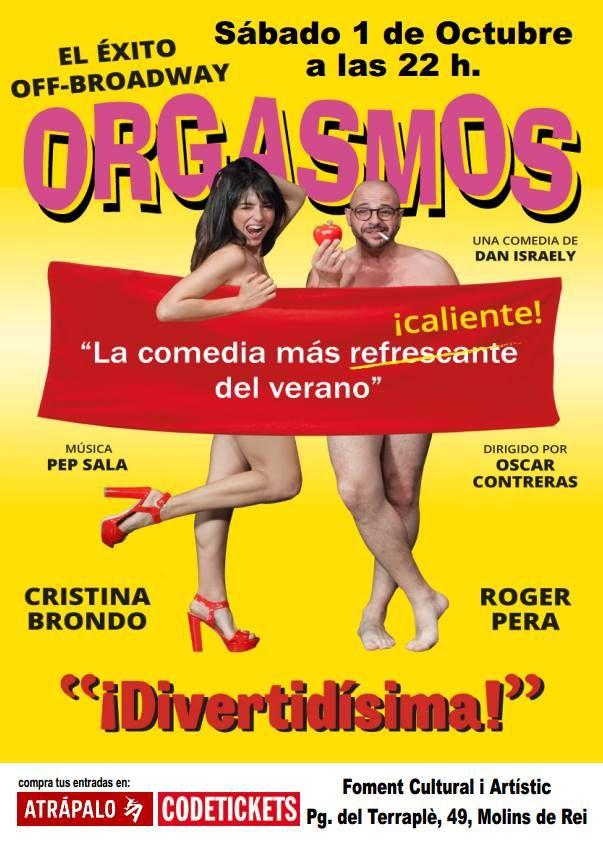 'Orgasmos, la comedia!', llega a Molins de Rei