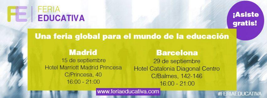 Feria Educativa ofrece en septiembre dos grandes eventos en torno al postgrado