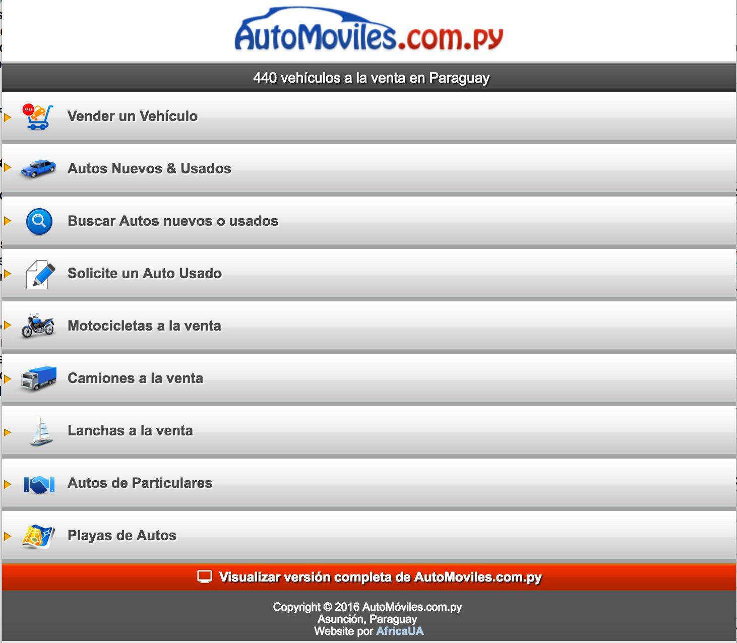 2016: crecimiento del mercado de compraventa de autos