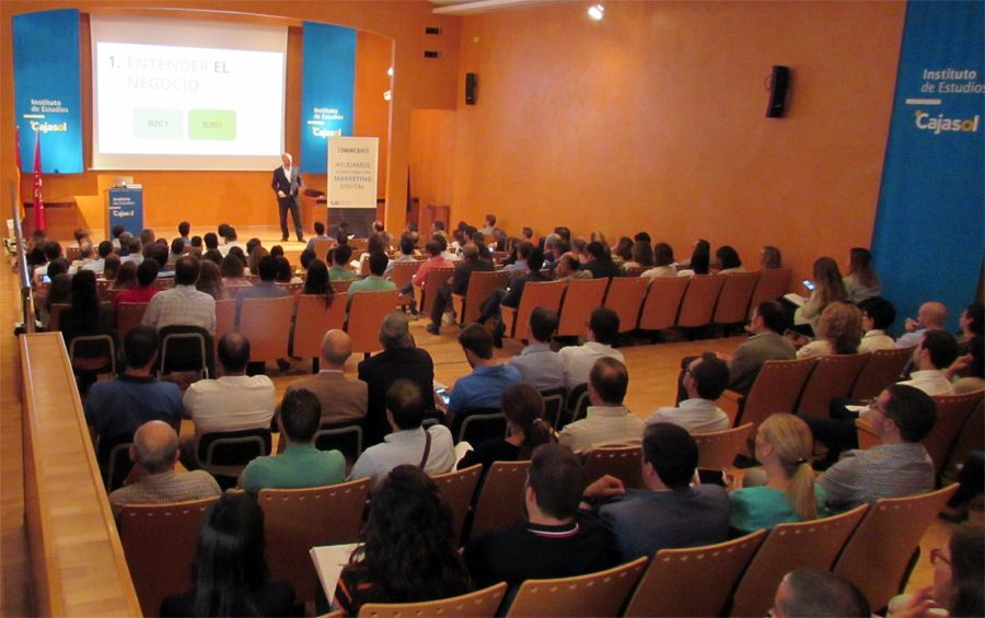 Lleno absoluto en la Jornada sobre Marketing Digital #InboundSevilla