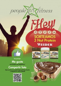Concurso People and Fitness - Nut Protein Weider