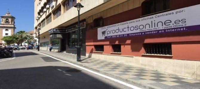 Productosonline.es se instala en el centro de Algeciras