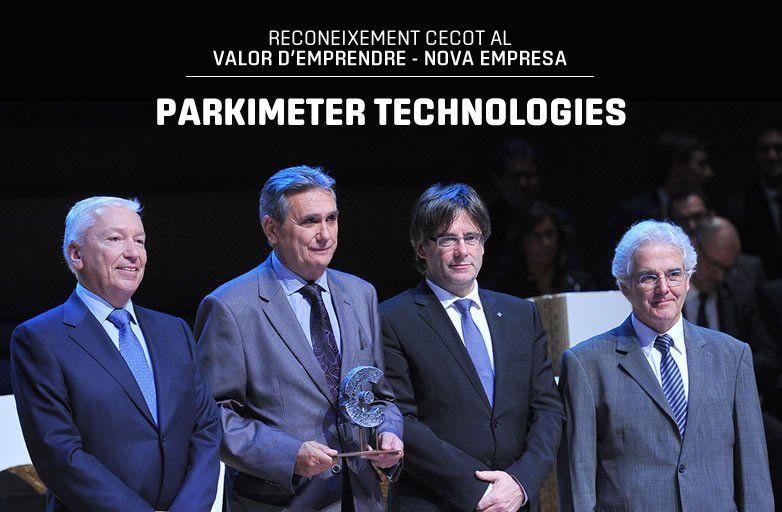 La patronal CECOT entrega el premio 'Valor de emprender' a Parkimeter