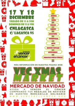 Cartel de VECxMAS Market