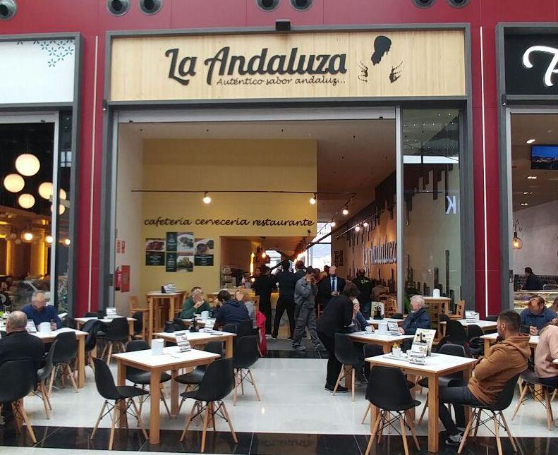 La franquicia de bares y restaurantes La Andaluza abre un nuevo local en Nevada Shopping (Armilla)