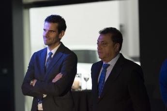 Manuel Perez Casado y Francisco Alba durante la presentación del evento