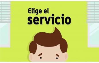 Elige el Servicio