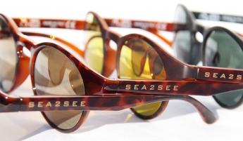Sea2see gafas 100% elaboradas con plástico reciclado del mar