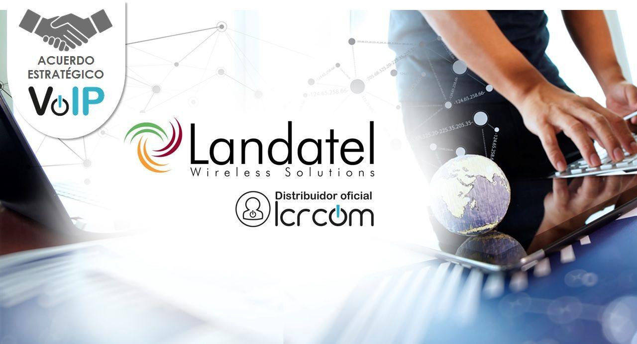 Landatel firma como mayorista de LCRcom