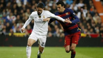 El Barca y el Real Madrid chocan en el Camp Nou