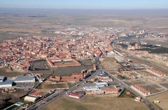 Vista aérea de Medina del Campo