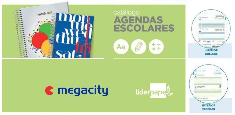 Fascinante campa a de megacity para brindar agendas de - Marcas de agendas ...