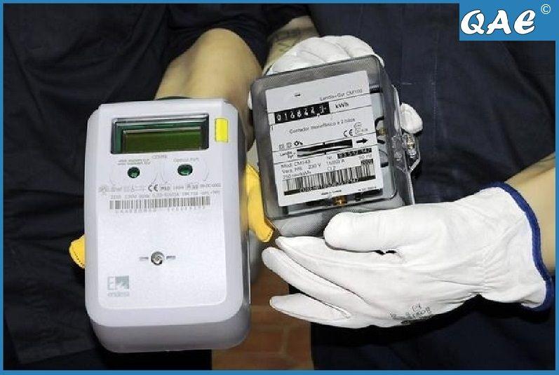 QAE denuncia en Bruselas los contadores inteligentes de electricidad