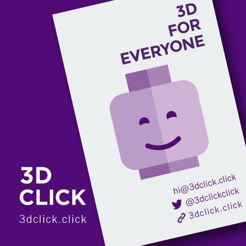 3D Click, crear y compartir presentaciones animadas de productos en 3D sin saber de 3D