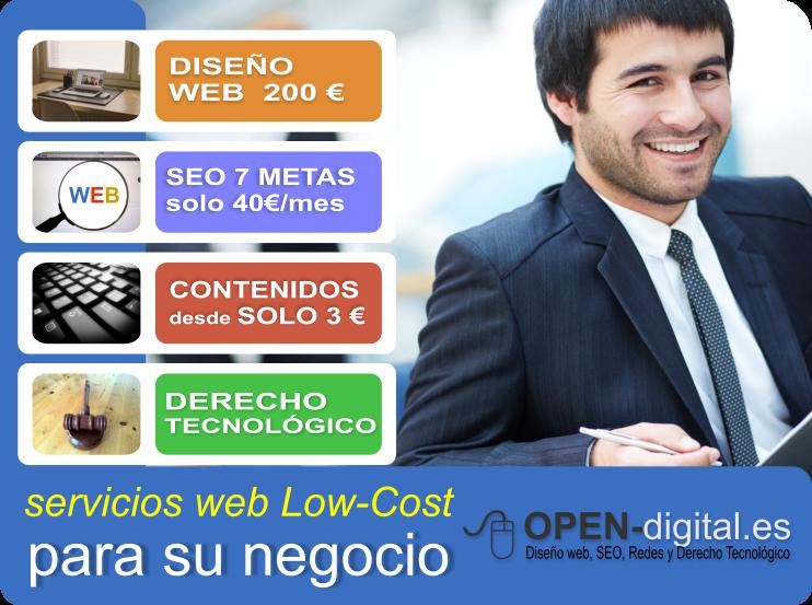 OPEN-digital lanza sus planes de SEO Low Cost desde solo 40 ?/mes