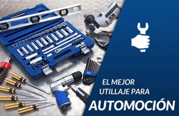 Fotografia tienda online de herramientas para talleres mecánicos