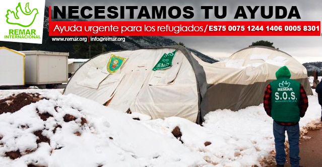 El mal temporal destruye las instalaciones de refugiados en Malakasa