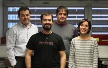 Investigadores que han desarrollado la aplicación web