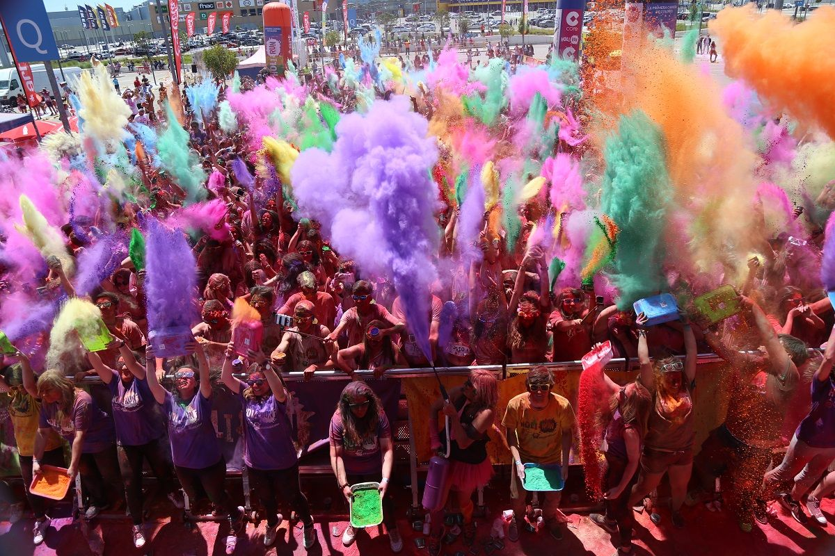 La Carrera De Colores Holi Run Vuelve A Málaga