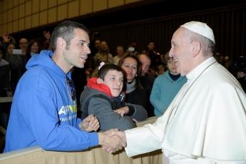 Appvise se reúne con el Papa Francisco