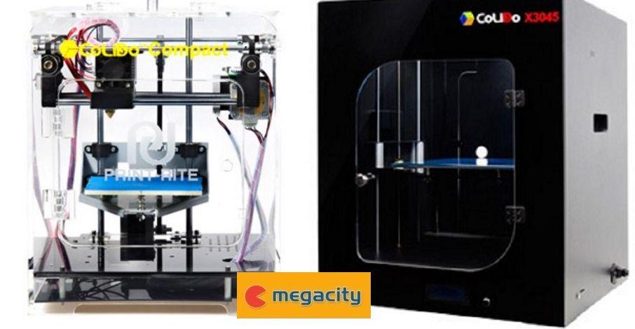Megacity apuesta fuerte en 2017 por las impresoras 3D