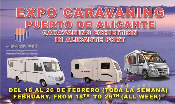 Primera Expo-Caravaning Puerto de Alicante