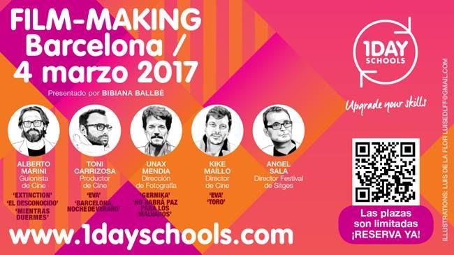 1DAYSCHOOLS estrena Film-Making Barcelona