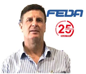 Fotografia Jesús Rodríguez, presidente de FEDA