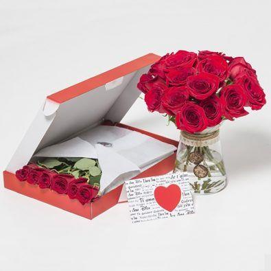 Fotografia Caja de rosas