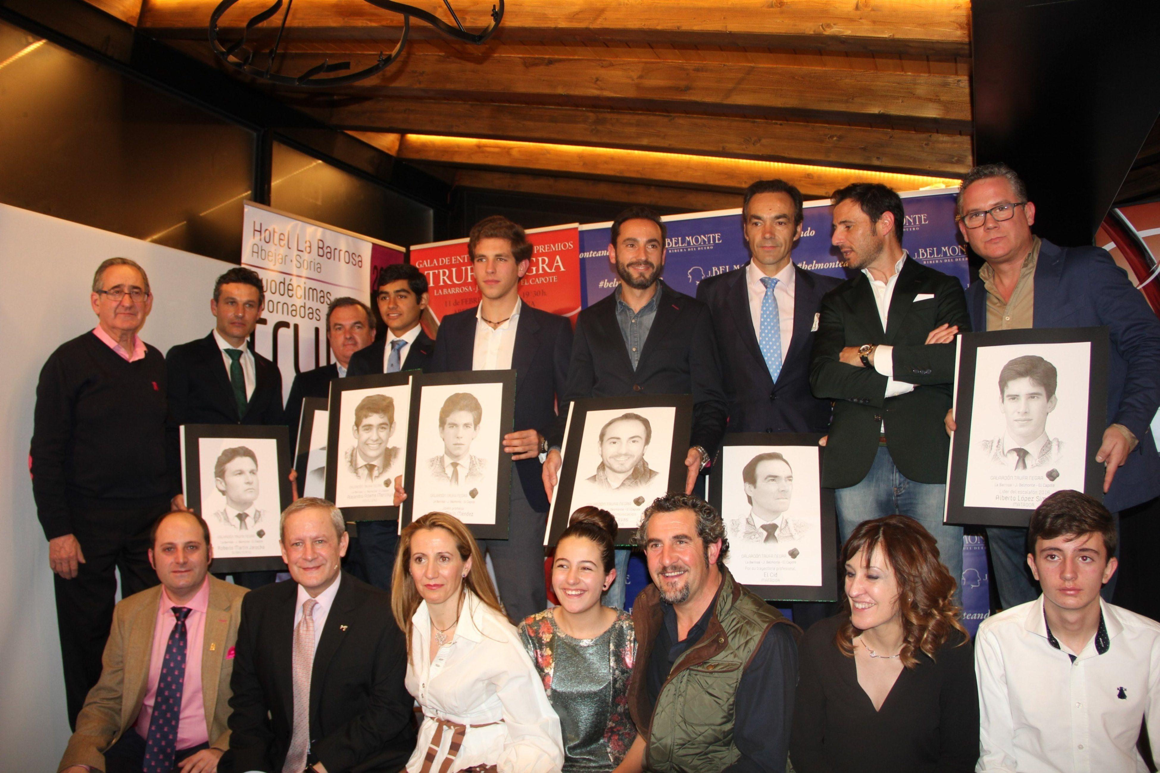 Los III Premios Trufa Negra La Barrosa J.Belmonte congregan a centenares de aficionados a la Fiesta