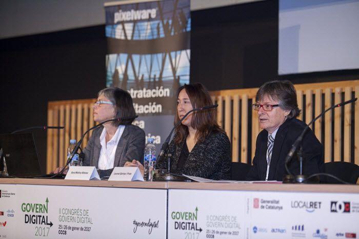 Fotografia Govern Digital 2017 Presentacion del TEEC