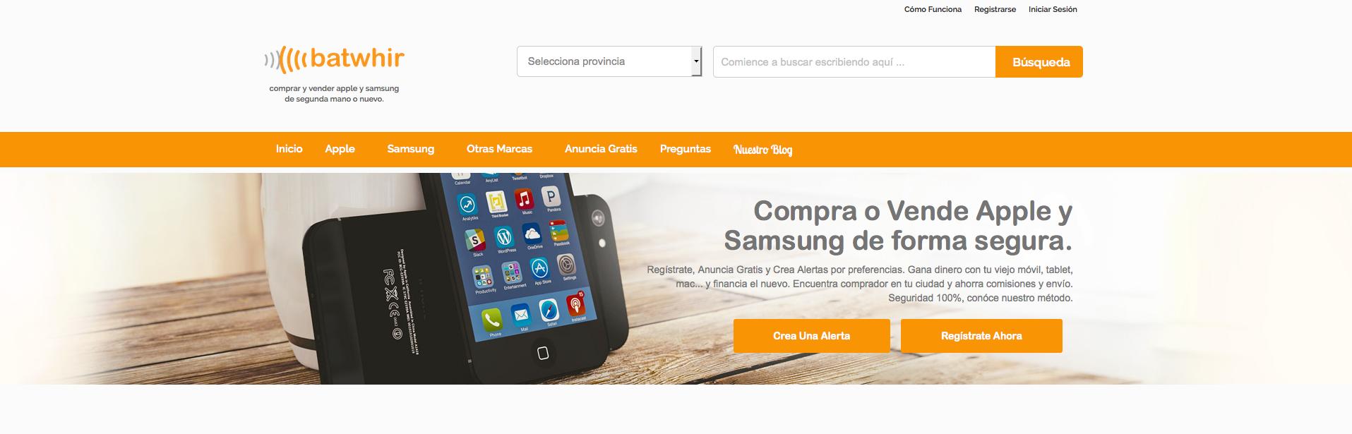 La plataforma para comprar y vender Apple y Samsung hecha por usuarios