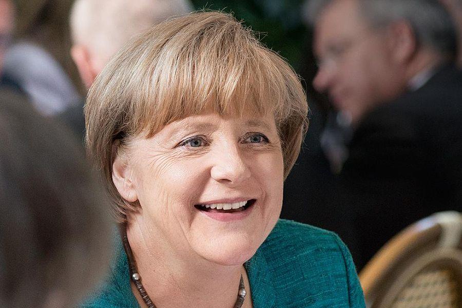 Fotografia Angela Merkel