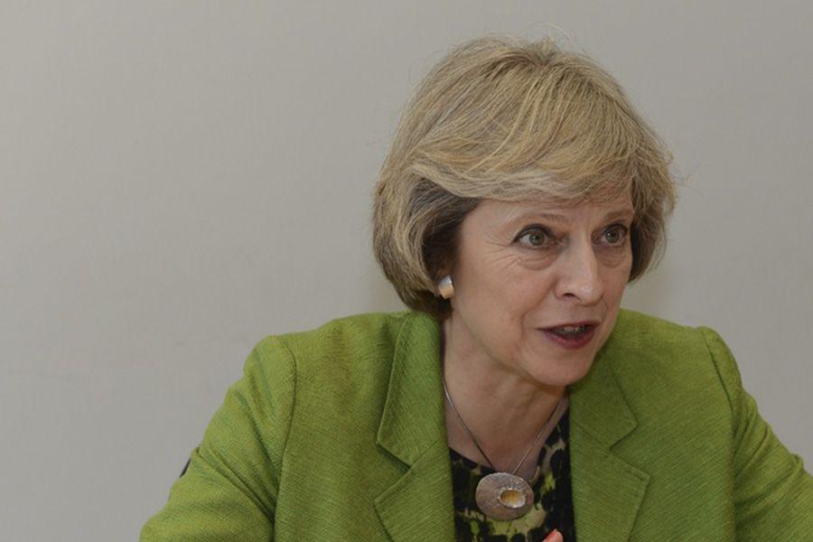 Fotografia Theresa May