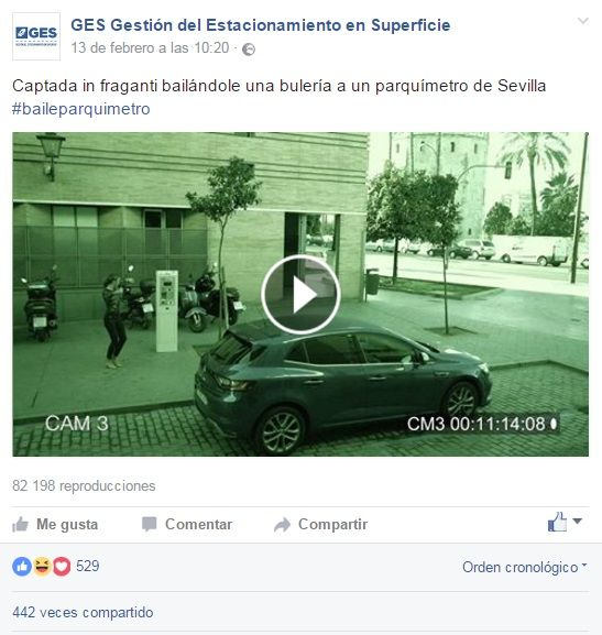 Fotografia Video viral para promocionar la campaña de GES en