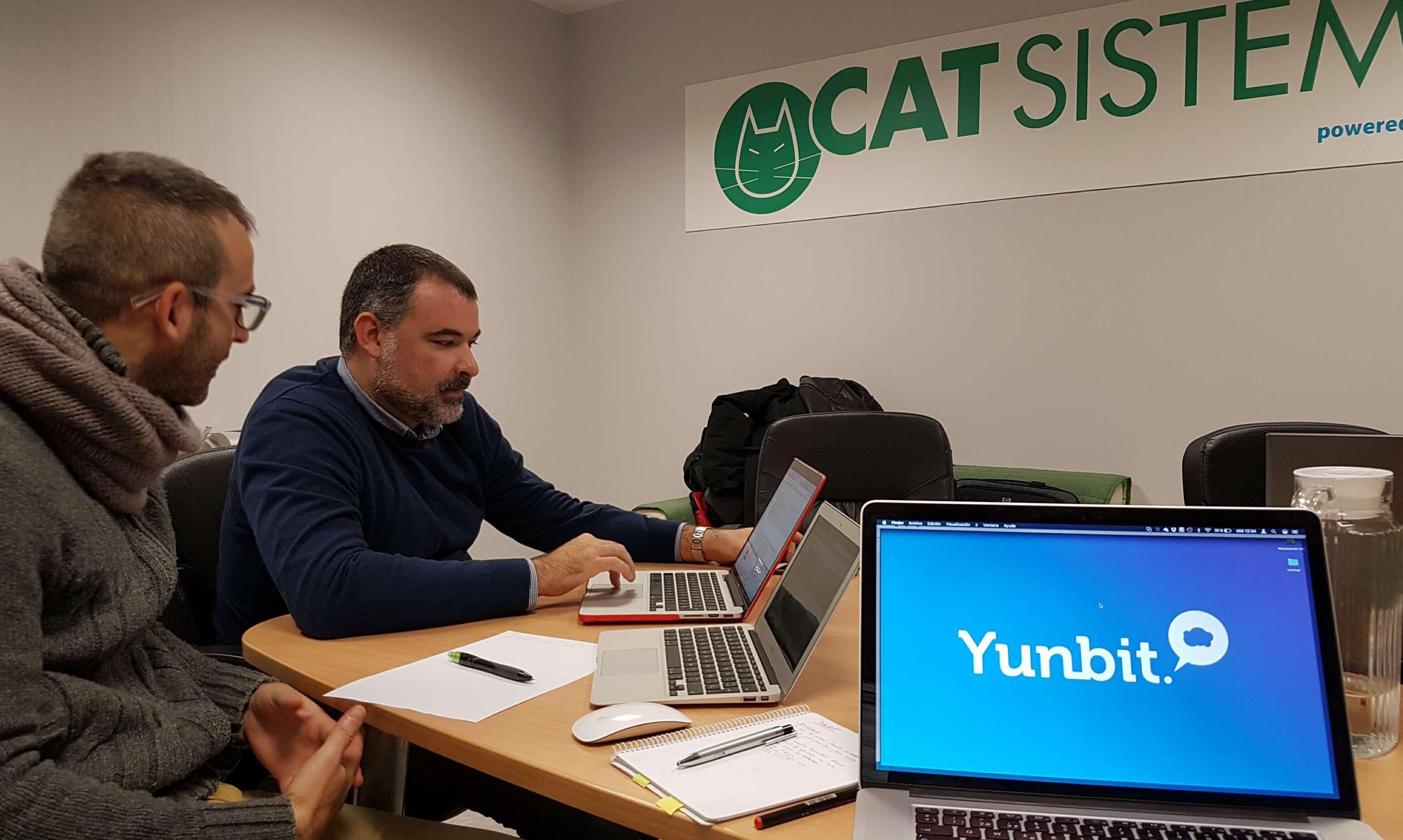 Cat Sistemas impulsa su negocio de la mano de Yunbit