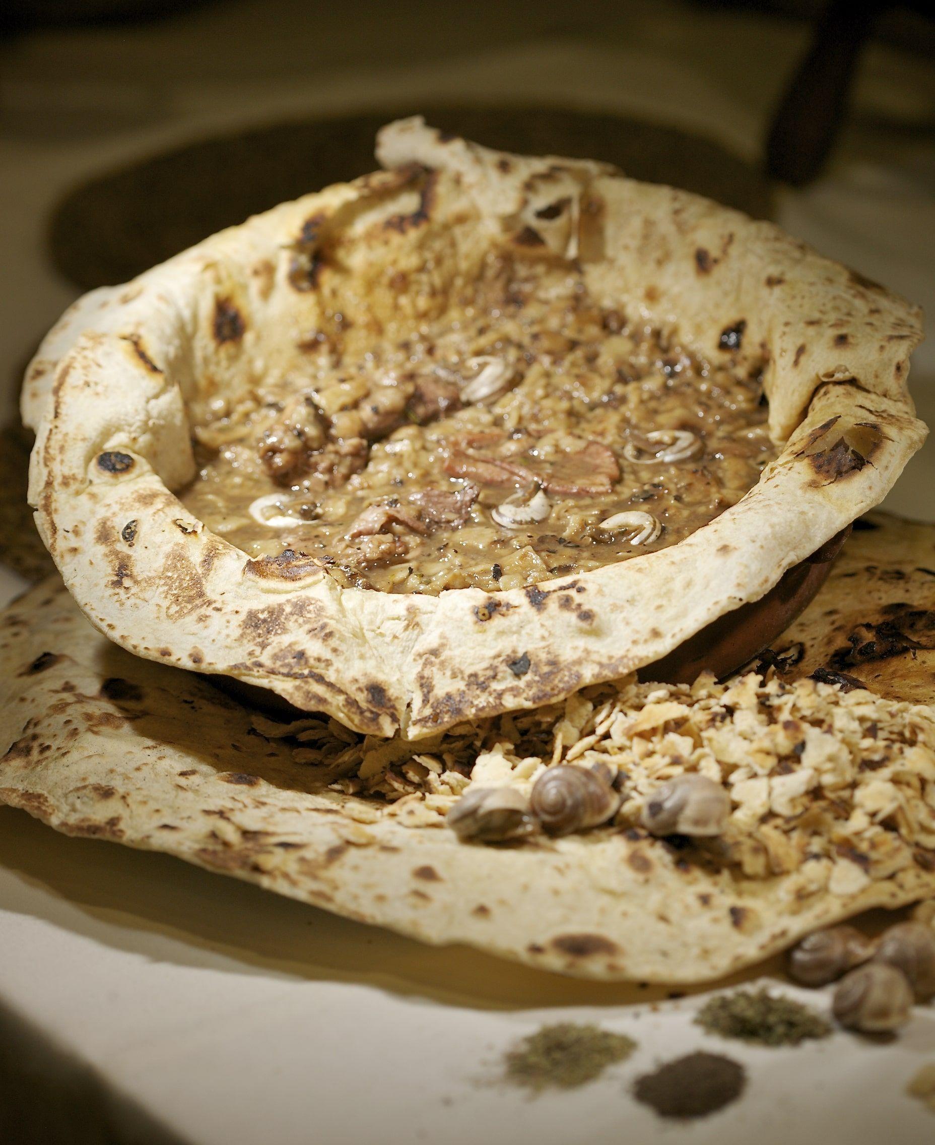 Fotografia Pinoso, gazpachos con conejo y caracoles