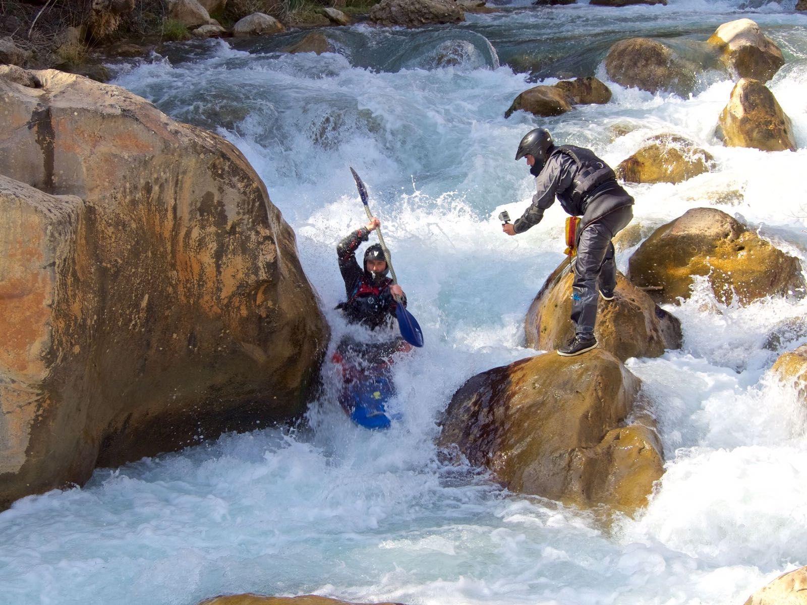 Fotografia Invernalia en el Río Mijares