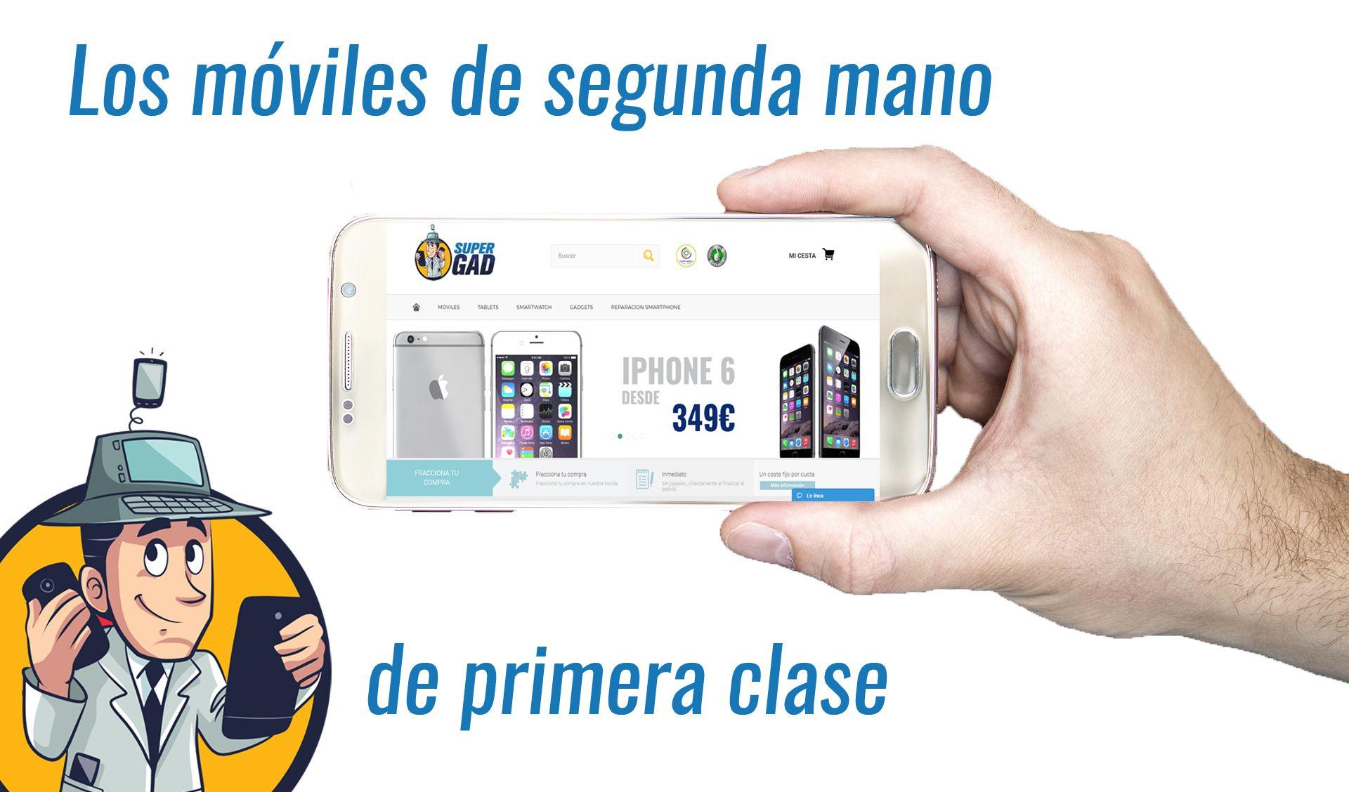 Fotografia Móviles Segunda Mano Supergad.com