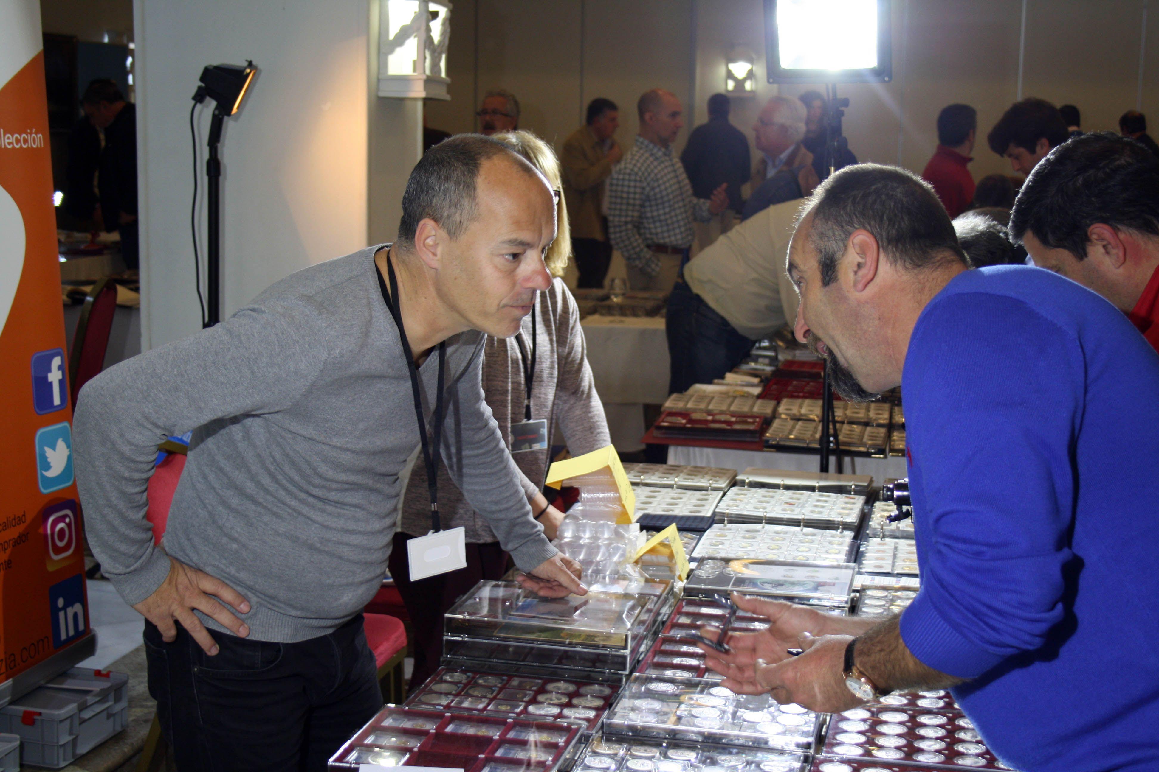 Fotografia Convención Numismatica de Jerez 2017