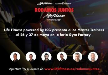 Life Fitness powered by ICGamplía su equipo y te invita a