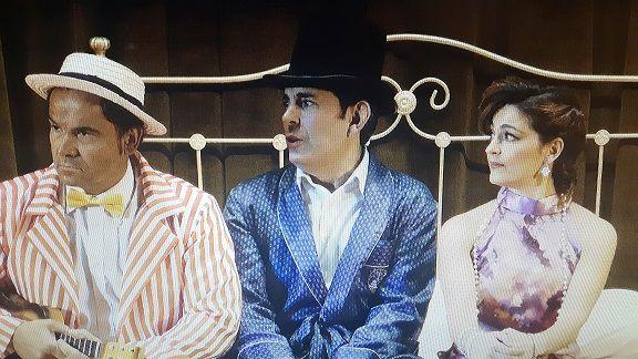 Fotografia Buby, Dionisio y Paula. Un trío cómico para trs