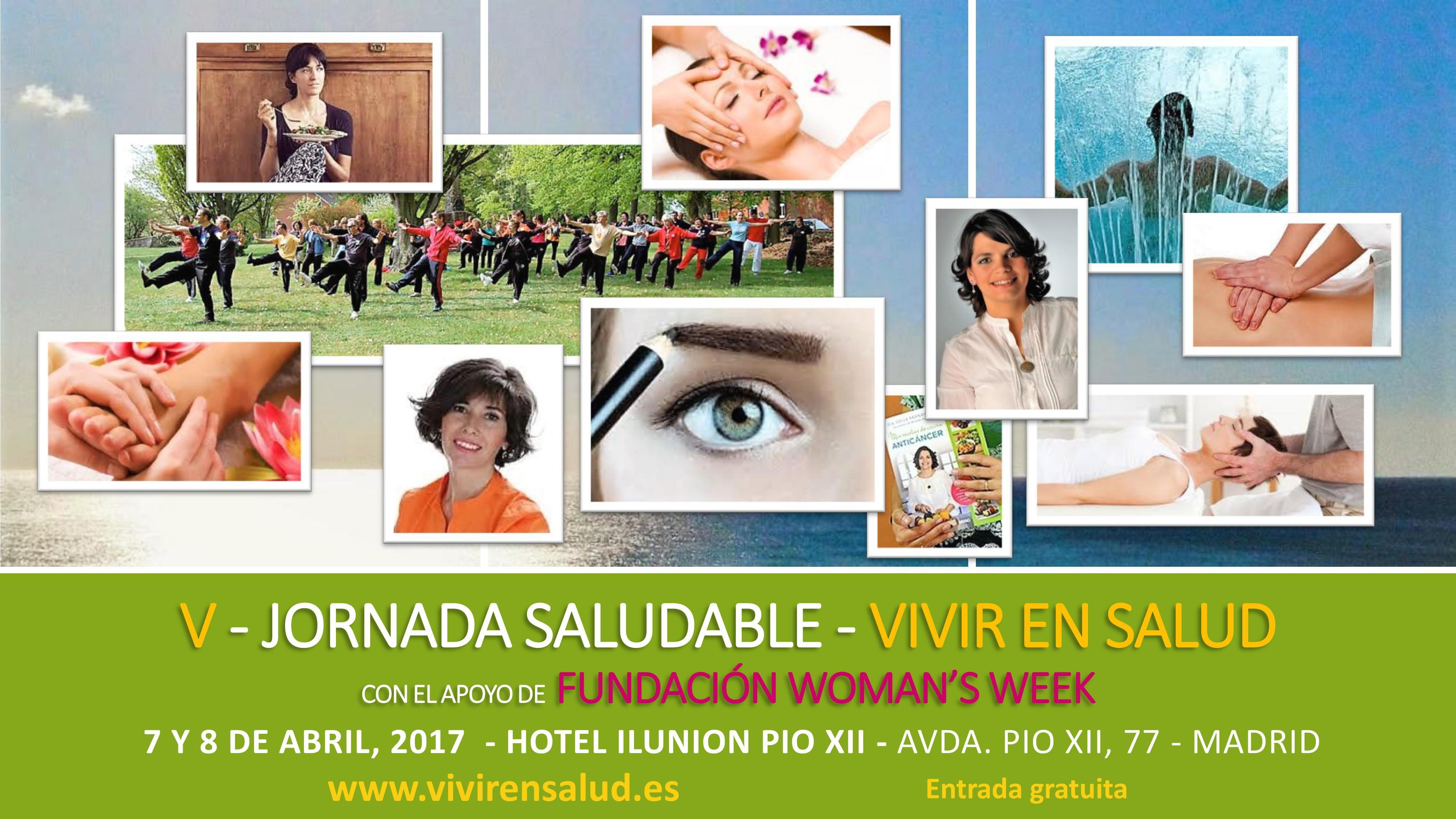 Mujer y salud,protagonistas de la V Jornada Saludable de 'Vivir en Salud'