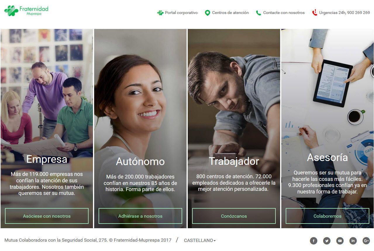 Fotografia Nuevo portal Web de Fraternidad-Muprespa