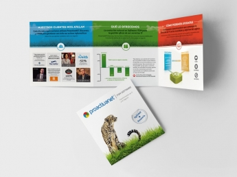 Mock up Folleto ProactivaNET